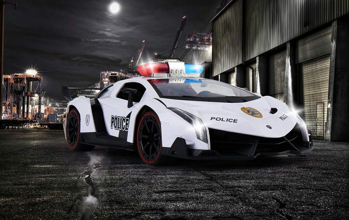 Police Car and Race Car Radio
